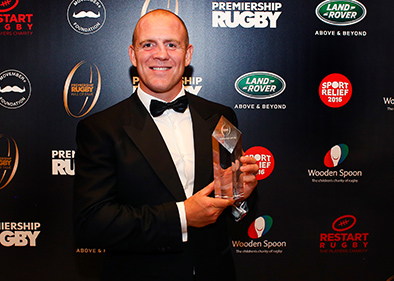 Mike Tindall MBE