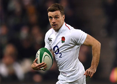 george ford running with ball