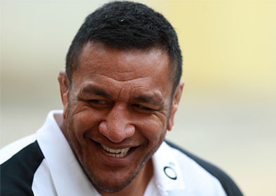 Mako Vunipola laughing