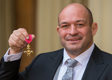 rory best OBE honoury medal